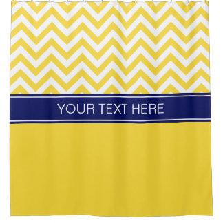 Cortina Para Box Monograma amarelo do nome do marinho dos CB do LG