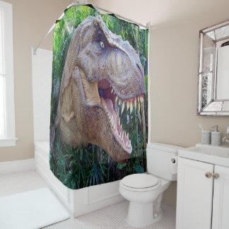 Cortina Para Box O dinossauro caçoa a cortina de chá