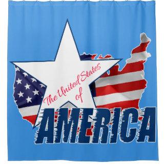 Cortina Para Box Os Estados Unidos da América 4o julho