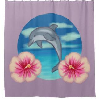 Cortina Para Box Paraíso do golfinho