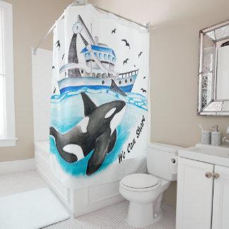 Cortina Para Box Parte da orca