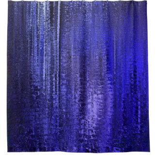 Cortina Para Box Pináculos azuis da chuva