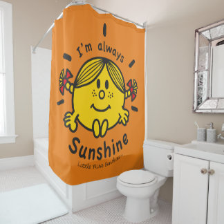 Cortina Para Box Senhorita pequena Luz do sol | eu sou sempre luz