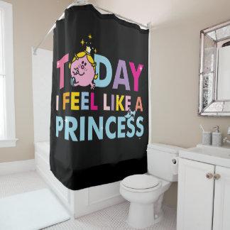Cortina Para Box Senhorita pequena princesa | que eu sinto como uma