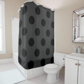 Cortina Para Box Shower-Curtain_Style-MOD (C) Gray_Black_