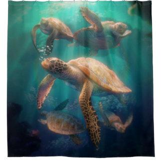 Cortina Para Box Tartarugas de mar
