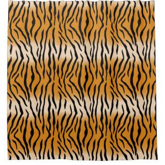 Cortina Para Box Teste padrão contemporâneo moderno do tigre