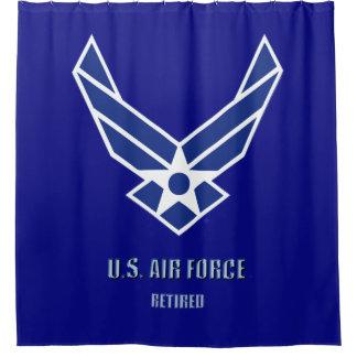 Cortina Para Box U.S. Cortina de chá aposentada força aérea