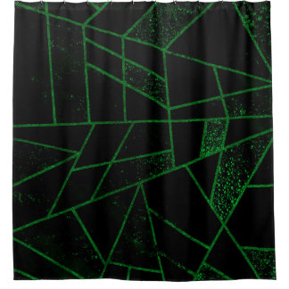 Cortina Para Box Verde #948 abstrato