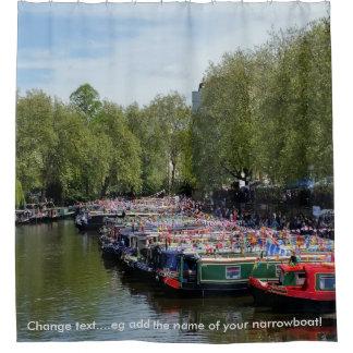 Cortina Para Box Vias navegáveis britânicas - festival do canal de