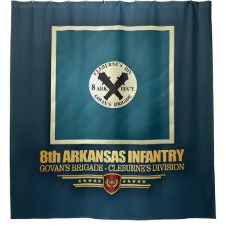 Cortina Para Chuveiro 8o Infantaria de Arkansas