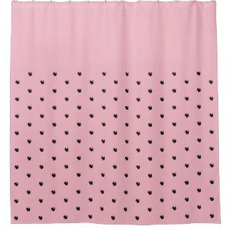 Cortina Para Chuveiro A cortina de chá