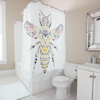Cortina Para Chuveiro abelha de rainha