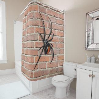 Cortina Para Chuveiro Arachnaphobia