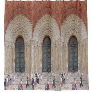 Cortina Para Chuveiro Arcos do Iglesia Cuenca Equador