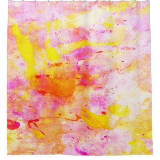 """Cortina Para Chuveiro Arte abstracta colorida de """"Splish"""""""