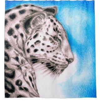 Cortina Para Chuveiro Arte de Jaguar