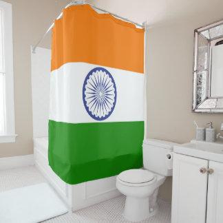 Cortina Para Chuveiro Bandeira de India Ashoka Chakra