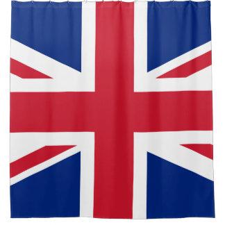 Cortina Para Chuveiro Bandeira Union Jack de Reino Unido