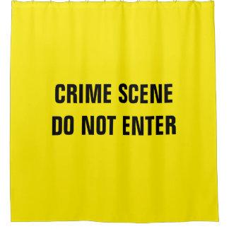 Cortina Para Chuveiro Cena do crime