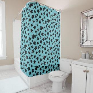 Cortina Para Chuveiro cortina de chá customizável das estrelas