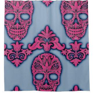 Cortina Para Chuveiro cortina de chá customizável do pop do crânio