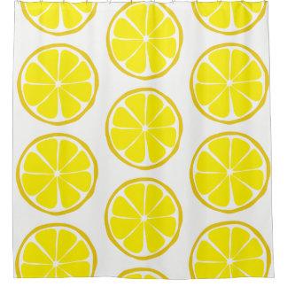 Cortina Para Chuveiro Cortina de chá do limão do citrino do verão