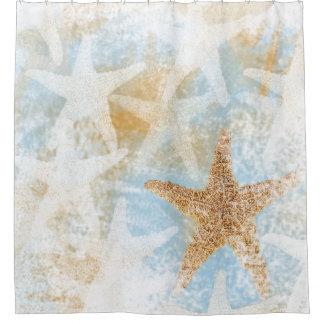 Cortina Para Chuveiro Cortina de chá litoral do impressão | da estrela