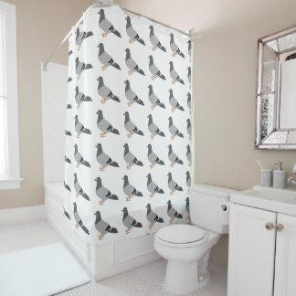 Cortina Para Chuveiro Design do pombo