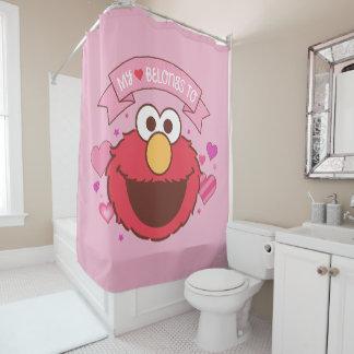 Cortina Para Chuveiro Elmo | meu coração pertence a Elmo