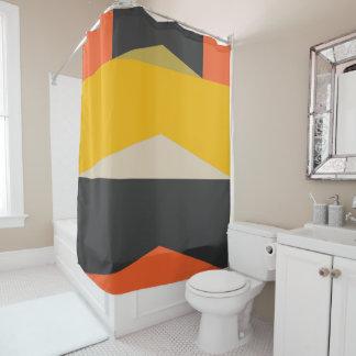 Cortina Para Chuveiro Formas geométricas da arte abstracta moderna do
