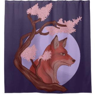 Cortina Para Chuveiro Fox de Sakura