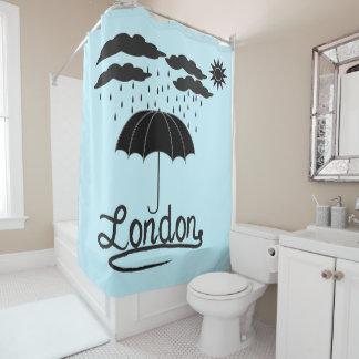 Cortina Para Chuveiro Londres | sob um guarda-chuva