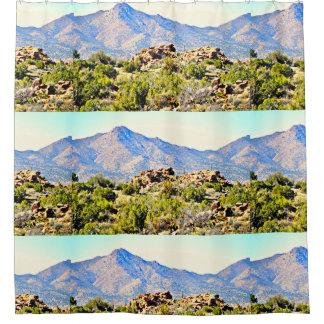 Cortina Para Chuveiro Montanhas do deserto da arizona/beira de Nevada