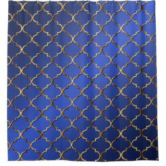 Cortina Para Chuveiro Mosaico moderno do Arabesque do vintage do estilo