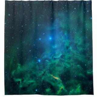 Cortina Para Chuveiro Nebulosa flamejante da estrela