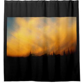 Cortina Para Chuveiro Nuvems fogosos - Clouds on Fire