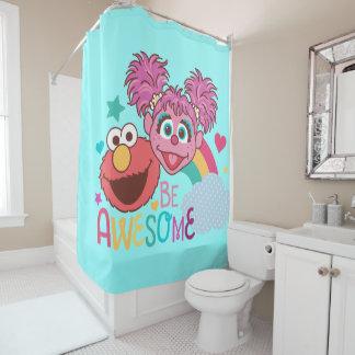 Cortina Para Chuveiro O Sesame Street | Elmo & Abby - seja