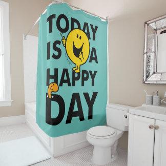 Cortina Para Chuveiro O Sr. Feliz | é hoje um dia feliz