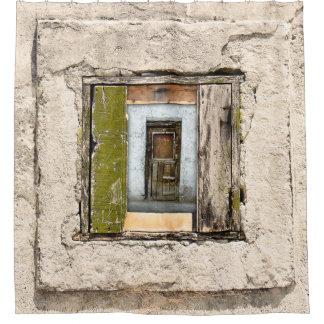 Cortina Para Chuveiro Parede, janela e porta