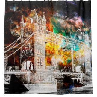 Cortina Para Chuveiro Respire outra vez sonhos de Londres