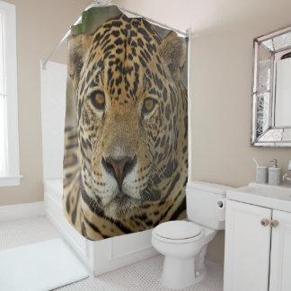 Cortina Para Chuveiro Retrato felino de Jaguar
