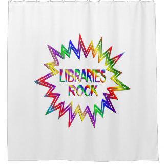 Cortina Para Chuveiro Rocha das bibliotecas