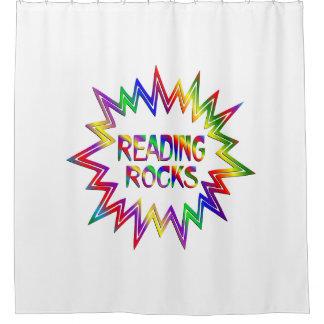 Cortina Para Chuveiro Rochas da leitura