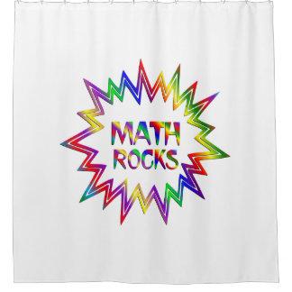Cortina Para Chuveiro Rochas da matemática