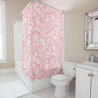 Cortina Para Chuveiro Rosa do pêssego de William Morris ou sua cor feita