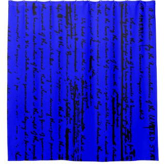 Cortina Para Chuveiro Roteiro bonito do esboço por Thos. Jefferson 1776