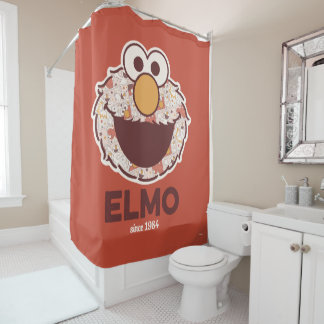 Cortina Para Chuveiro Sesame Street | Elmo desde 1984