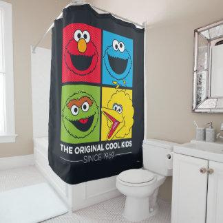 Cortina Para Chuveiro Sesame Street | os miúdos legal originais