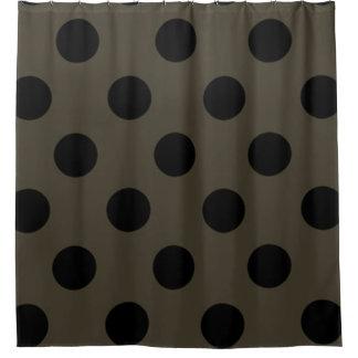 Cortina Para Chuveiro Shower-Curtain_Style-MOD (C) Taupe_Black_